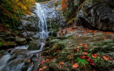 Autumn Waterfall1